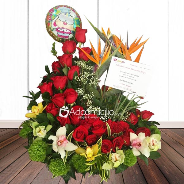 Arreglos Florales A Domicilio En Bucaramanga Rosas Amarillas