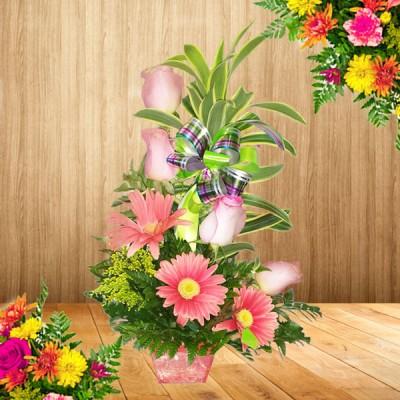 Arreglo Floral Día De La Madre A Domicilio En Cali